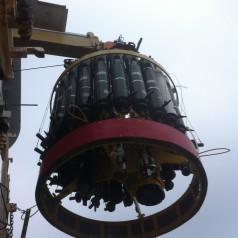 The oceanographic rosette